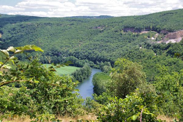La vallée de l_Aveyron