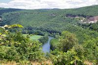 La vallee de l'Aveyron