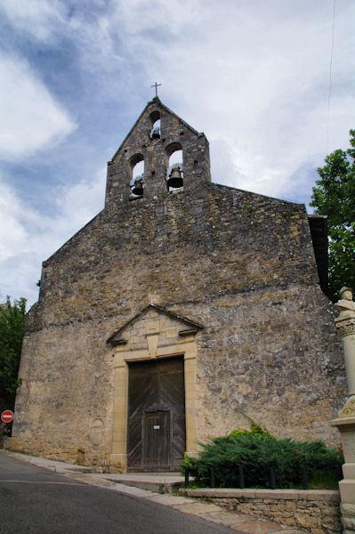 L_église de Bruniquel