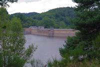 Le Barrage de Gravette sur le Lac des Cammazes