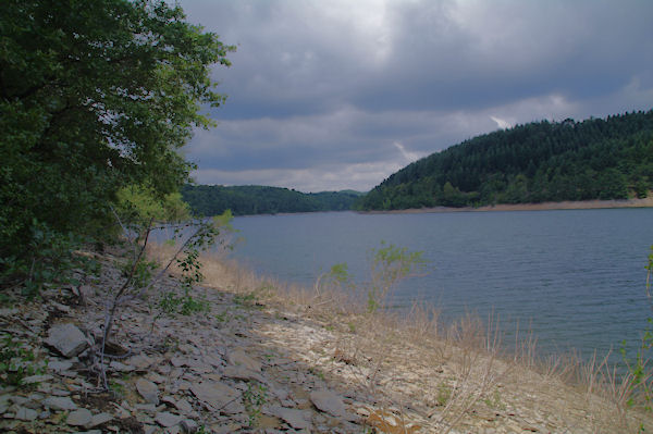 Au bord du Lac des Cammazes à la Combe d_Arnaud