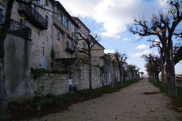 L_allée Est de Castelnau de Montmirail