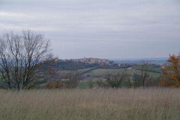 Castelnau de Montmirail depuis Au Caussé