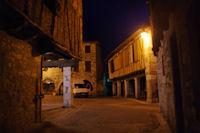 Castelnau de Montmirail, place centrale