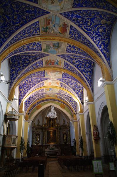 L_église Notre Dame de l_Assomption à Castelnau de Montmirail