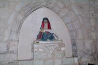 La Vierge de l'Assomption dans l'eglise de Castelnau de Montmirail