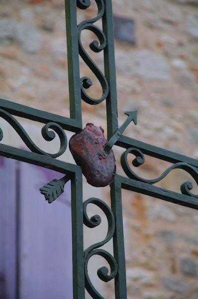 Devant l_église Notre Dame de l_Assomption