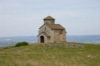 La Chapelle de St Ferreol dominant la vallee du Sor