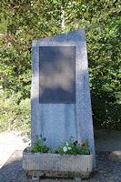 Stele commemorative d'une bataille du Maquis Corps Franc