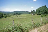 La plaine de Roquefort depuis les Escudies