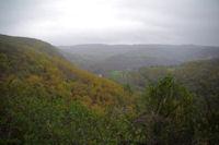La vallee de l'Aveyron depuis le Pech Grignal