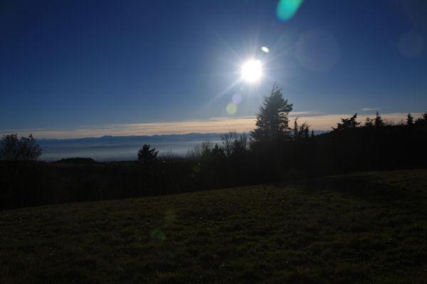Les Pyrénées depuis La Barraque ou Las Tapios