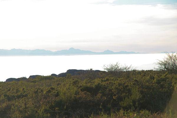 Le Mont Valier depuis la crête du vallon de Poutou