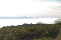 Le Mont Valier depuis la crete du vallon de Poutou