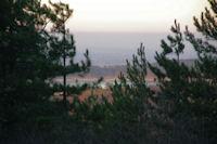 Au fond le Lac de St Ferreol