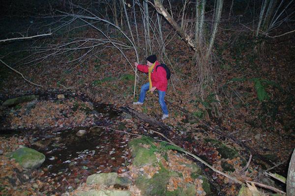 Le ruisseau de Poutou