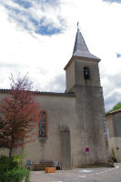 L'eglise de Durfort