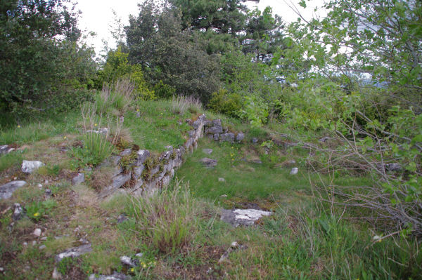 Les ruine de l_Oppidum de Berniquaut
