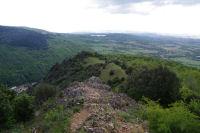 Les cretes menant a l'Oppidum de Berniquaut