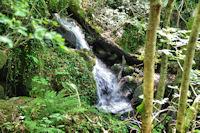 Les premieres cascades du Mouscaillou