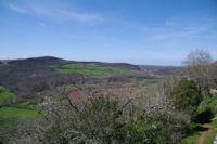 La vallee de la Vere depuis Puycelci