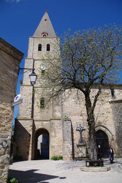L_église de Puycelci