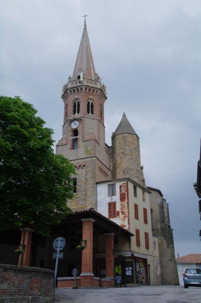 L_église de Puylaurens