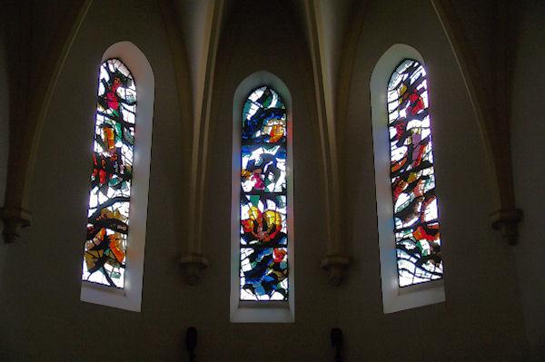 Dans l_église de Puylaurens