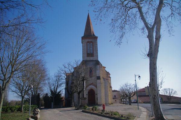 L_église de Senouillac