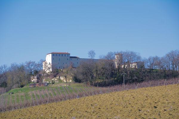 Le château de Salettes