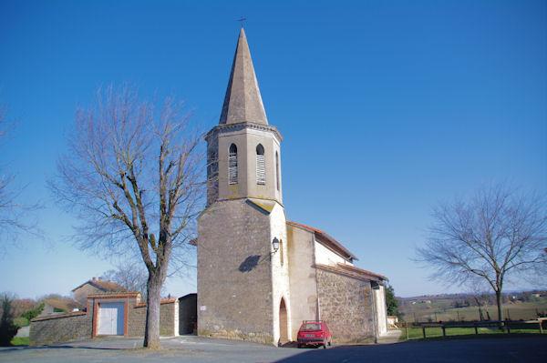 L_église de Mauriac