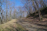 Le chemin remontant vers Berniquaut