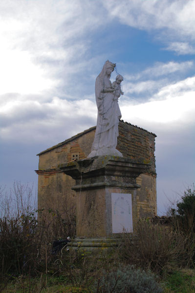 La Vierge de St Martin de la Cesquière
