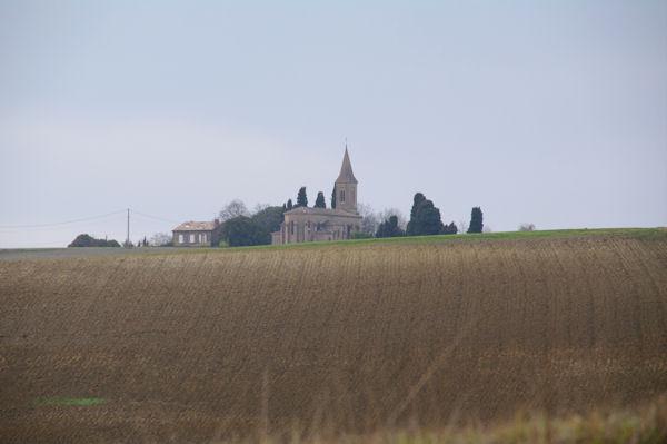 L_eglise de St Martin de la Cesquière