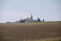 L'eglise de St Martin de la Cesquiere