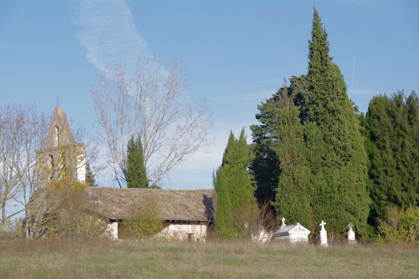 L_église de St Etienne de Vionan