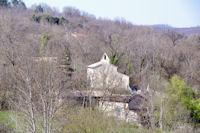 Cabanes et son eglise