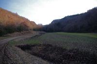 Au depart de la vallee du ruisseau de Laussiere