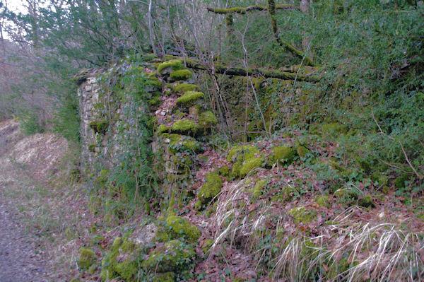 Un moulin en ruine dans la vallée de Laussière