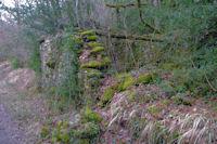 Un moulin en ruine dans la vallee de Laussiere