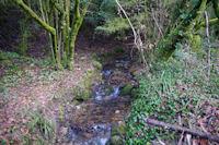 Le ruisseau de Laussiere