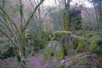 Un autre moulin en ruine dans la vallee de Laussiere