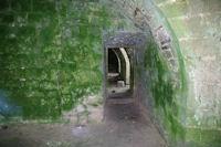Le couloir menant aux cuisines dans l'ancienne Commanderie des Templiers de Vaour