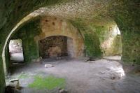 Les cuisines dans l'ancienne Commanderie des Templiers de Vaour