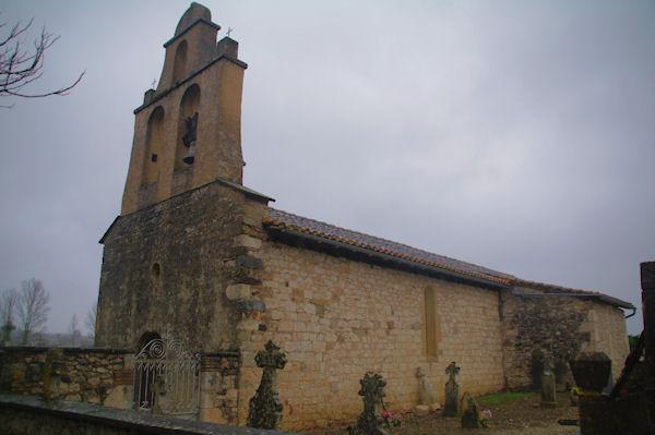 L_église de Brugnac