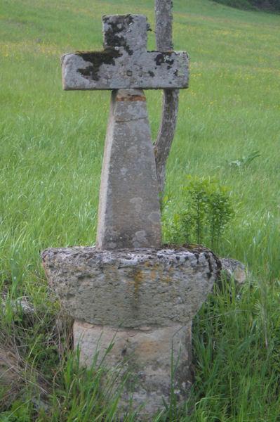 Une croix sous Le Verdier
