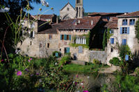 Sur les bords de l'Aveyron a St Antonin Noble Val