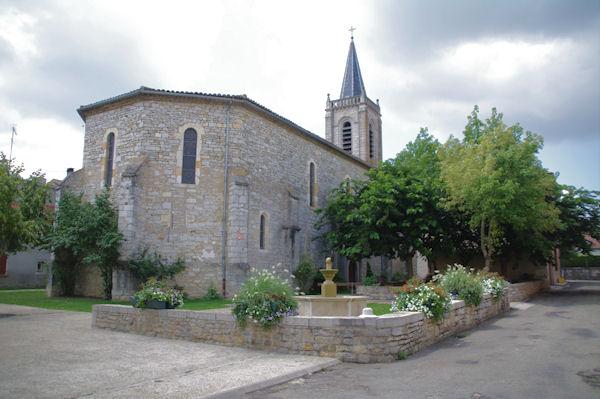 L_église de Septfonds