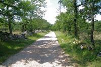 Le chemin vers Grese du Franc