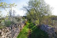 Le chemin vers La Veyrie